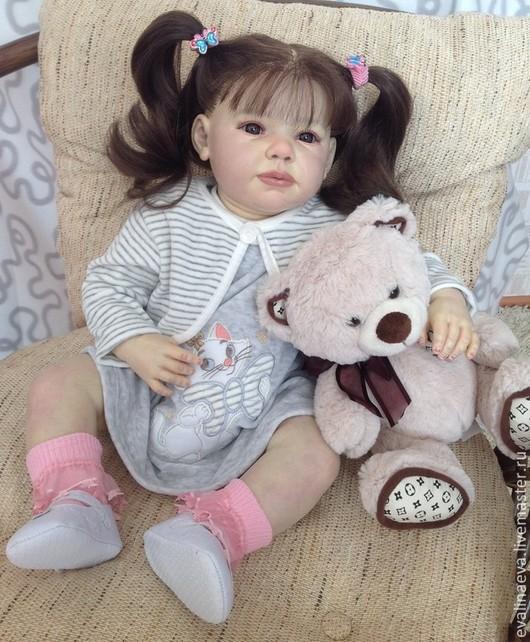 Куклы-младенцы и reborn ручной работы. Ярмарка Мастеров - ручная работа. Купить Кукла-реборн Хелли. Handmade. Коллекционная кукла