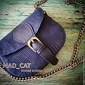 Сумки и аксессуары handmade. Livemaster - original item A handbag made of leather lizard. Handmade.