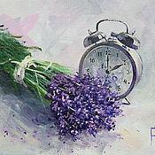 Картины и панно handmade. Livemaster - original item Oil painting on canvas. Time Provence. Handmade.