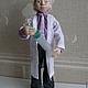 Коллекционные куклы ручной работы. Ярмарка Мастеров - ручная работа. Купить Гламурный Доктор. Handmade. Пластик, авторская работа