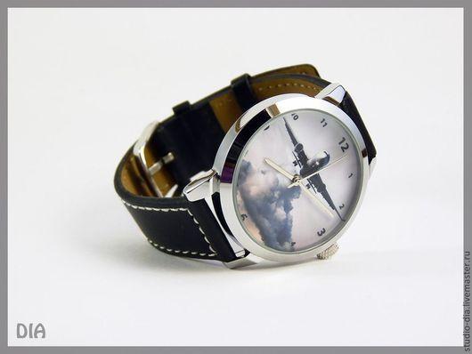 Часы. Наручные Часы. Оригинальные Дизайнерские Часы Самолет. Студия Дизайнерских Часов DIA.