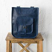 Сумки и аксессуары handmade. Livemaster - original item Copy of Leather handbag black SORA. Handmade.