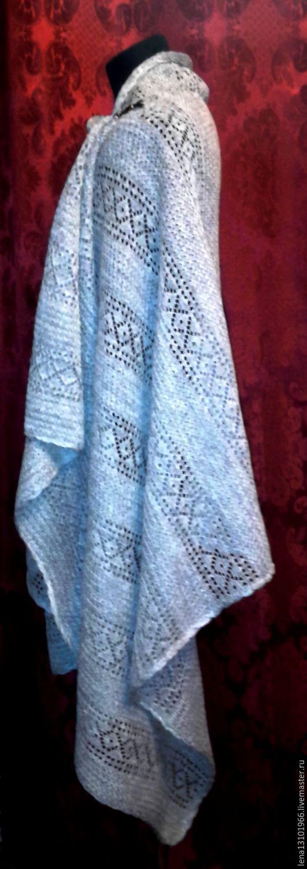 100% linen yarn Tippet 'boyar', Wraps, Kostroma,  Фото №1