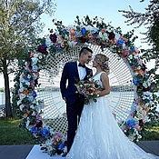 Для дома и интерьера handmade. Livemaster - original item Tablecloth openwork Wedding. Handmade.