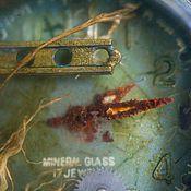 Украшения ручной работы. Ярмарка Мастеров - ручная работа Подводные миры в корпусе старых наручных часов.. Handmade.