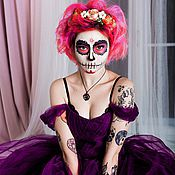Одежда handmade. Livemaster - original item Dress tulle in Halloween. Handmade.