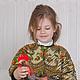 Одежда для девочек, ручной работы. Заказать куртка детская Краски лета. млета (mleta1). Ярмарка Мастеров. Синель, вискоза