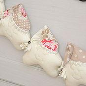 Для дома и интерьера ручной работы. Ярмарка Мастеров - ручная работа Звездочки-сплюшки в белых тонах. Handmade.