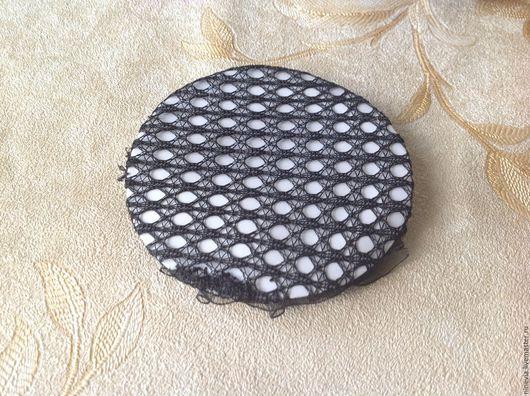 Другие виды рукоделия ручной работы. Ярмарка Мастеров - ручная работа. Купить Сетка для пучка. Handmade. Черный, сетка на волосы