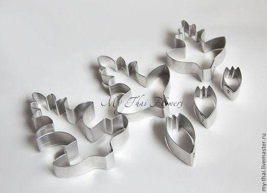 Каттер космея. Лепестки и листья. Материалы для флористики из Таиланда