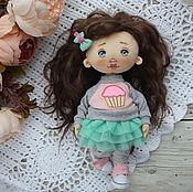 Текстильная кукла 24 см. Купить текстильную куклу. Текстильная кукла в