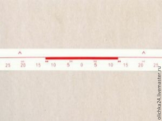 Вязание ручной работы. Ярмарка Мастеров - ручная работа. Купить Разметочная лента для верхней фонтуры 5 класс. Handmade. Лента