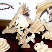 Куклы и игрушки handmade. Livemaster - original item Game set Sea animals Neptunia. Handmade.