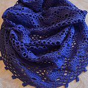 Шарфы ручной работы. Ярмарка Мастеров - ручная работа Ажурный шарф-труба, снуд, хомут. Handmade.