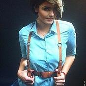 Аксессуары handmade. Livemaster - original item Women`s beige belt