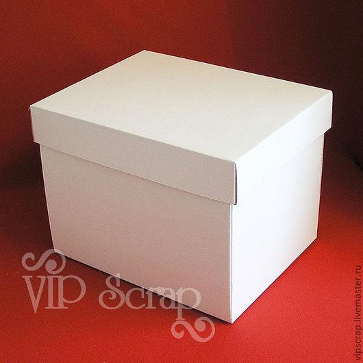 Упаковка ручной работы. Ярмарка Мастеров - ручная работа. Купить Коробки белые из микрогофрокартона 265х210х200 мм. Handmade. Коробка, коробки