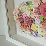 Цветы и флористика handmade. Livemaster - original item Panels Roses for your loved one. Flowers polymer clay handmade.. Handmade.