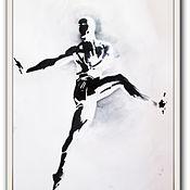 Картины и панно ручной работы. Ярмарка Мастеров - ручная работа картина 2 Балет- любовь моя. Handmade.