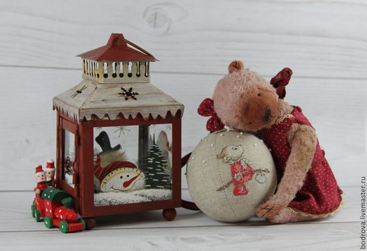 Мишки Тедди ручной работы. Ярмарка Мастеров - ручная работа. Купить Пелагея. Handmade. Бледно-сиреневый, ручная работа