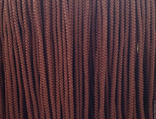 Вязание ручной работы. Ярмарка Мастеров - ручная работа. Купить Полиэфирный шнур.. Handmade. Коричневый, шоколадный, шнур, купить шнур