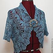 Одежда handmade. Livemaster - original item Bolero crochet openwork summer boho