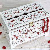 Свадебный салон handmade. Livemaster - original item box for envelopes. Handmade.