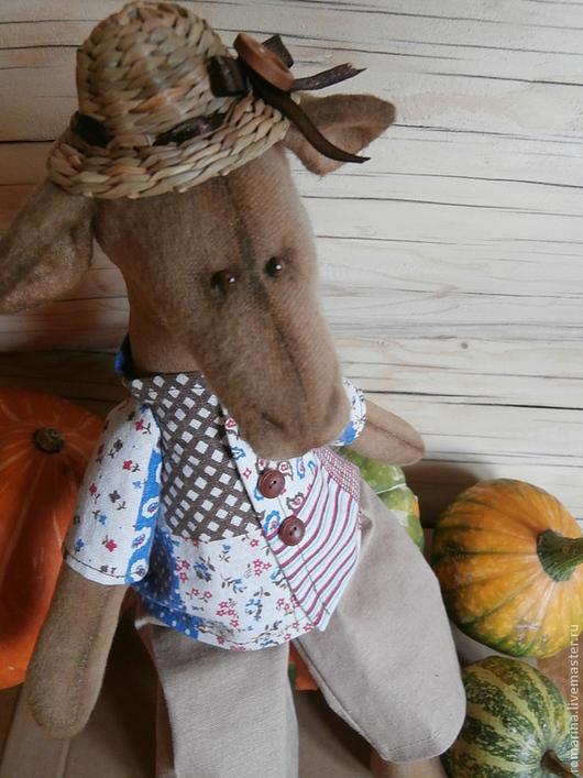 Ароматизированные куклы ручной работы. Ярмарка Мастеров - ручная работа. Купить ослик Демьян.Вот такой у нас у нас урожай!!!. Handmade.