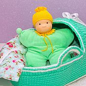 Stuffed Toys handmade. Livemaster - original item Komforter, 26 cm. Handmade.