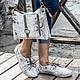 Обувь ручной работы. Ботинки из кожи питона . Кожаные ботинки.. Maria. Ярмарка Мастеров. Женская обувь, туфли, сумка из питона