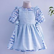 Платье и фартучек