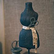 Для дома и интерьера ручной работы. Ярмарка Мастеров - ручная работа Винтажный манекен. Handmade.