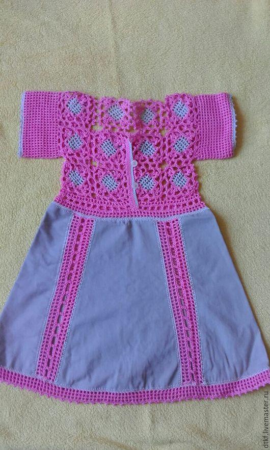 Одежда для девочек, ручной работы. Ярмарка Мастеров - ручная работа. Купить детские платья авторской работы. Handmade. Розовый