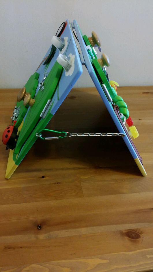 """Развивающие игрушки ручной работы. Ярмарка Мастеров - ручная работа. Купить Бизиборд """"Африка"""". Handmade. Бизиборд, фанера берёзовая"""