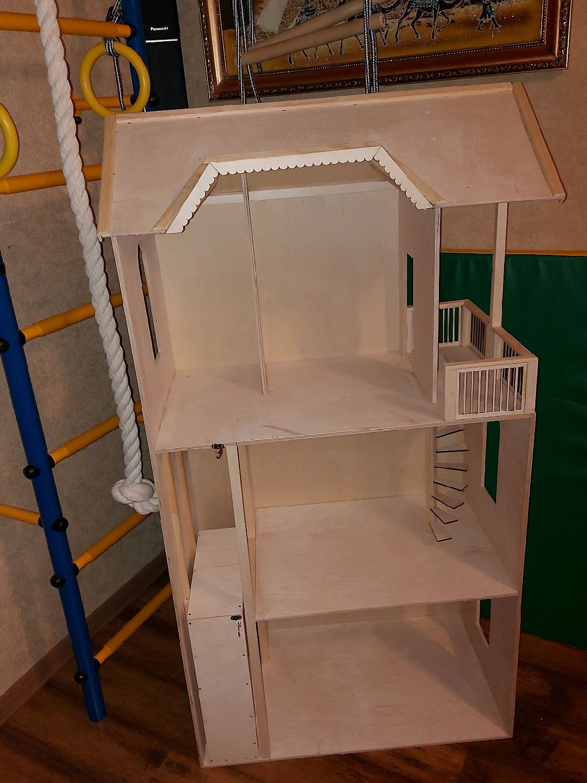 Кукольный трехэтажный дом с лифтом, Кукольные домики, Рязань,  Фото №1