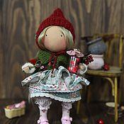 Куклы и игрушки ручной работы. Ярмарка Мастеров - ручная работа Текстильная кукла, Клюква. Handmade.