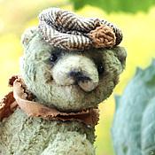 Куклы и игрушки ручной работы. Ярмарка Мастеров - ручная работа Степка - деревенский медвежонок. Handmade.