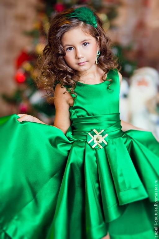 efa65ba6d26 Византия нарядное платье для девочки со шлейфом – купить в интернет ...