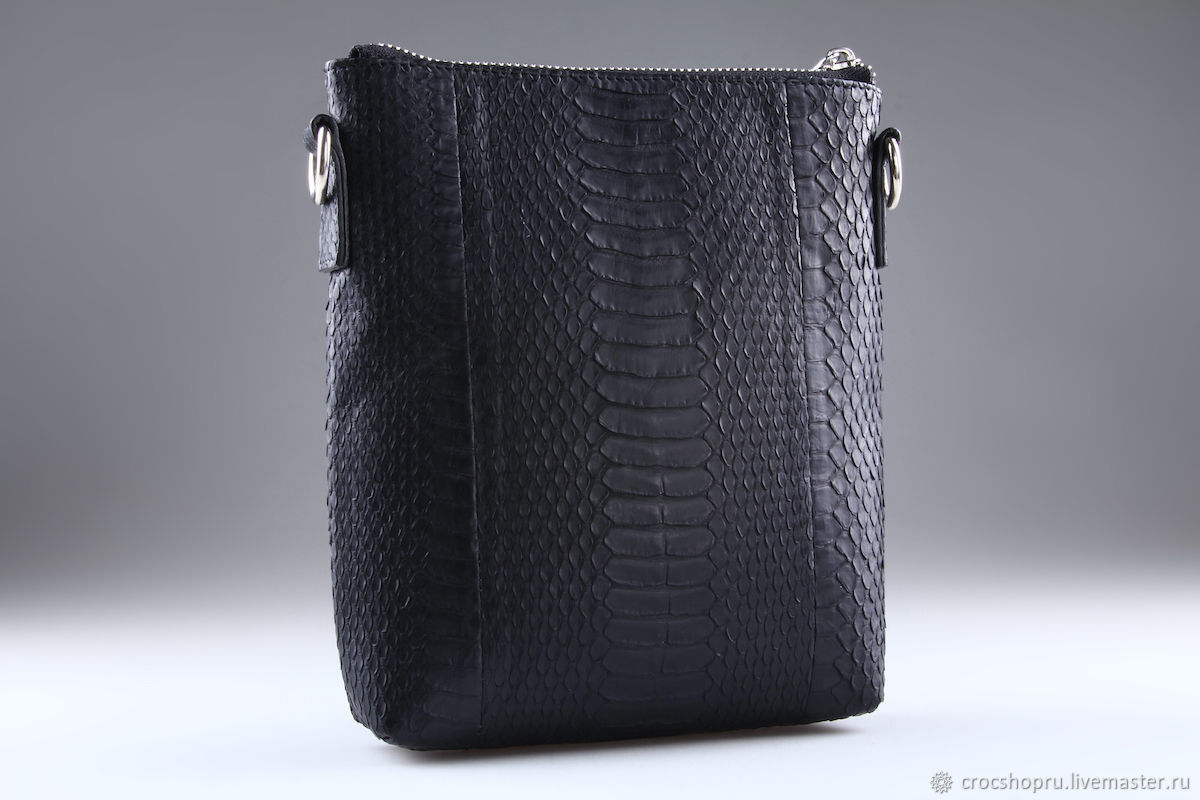 Shoulder bag made of Python IMP0546B leather, Classic Bag, Moscow,  Фото №1