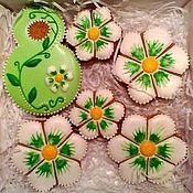 Сувениры и подарки handmade. Livemaster - original item Set the gingerbread on March 8.. Handmade.