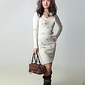 Одежда ручной работы. Ярмарка Мастеров - ручная работа Платье вязаное 4497. Handmade.