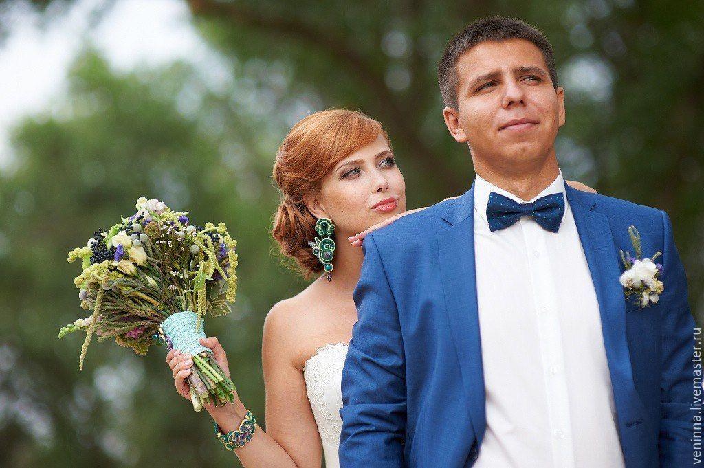 Wedding set 'emerald', Jewelry Sets, Moscow,  Фото №1