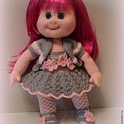 Вязаная кукла Лора.