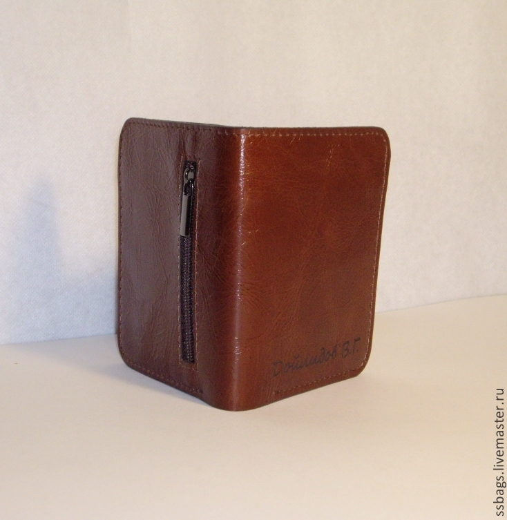 21ffad4dff9c Кошельки и визитницы ручной работы. Маленькое портмоне из натуральной кожи.  Маленький кошелек.