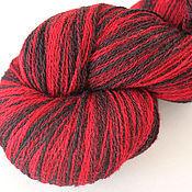 KAUNI Artistic Yarn Black Red 8/2