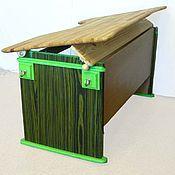 Для дома и интерьера ручной работы. Ярмарка Мастеров - ручная работа Парты из натурального дерева. Handmade.