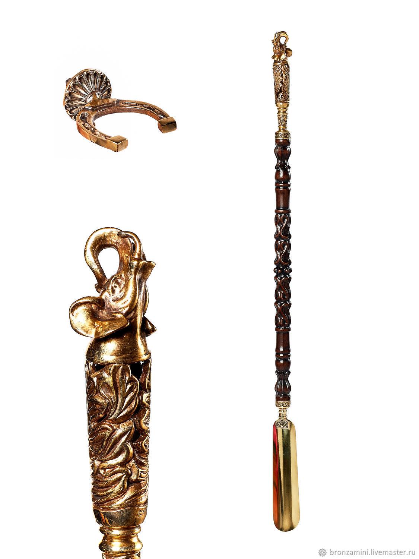 Elephant Shoe spoon, Shoe spatula, Interior elements, Kislovodsk,  Фото №1
