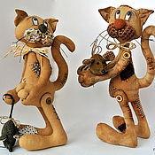 Куклы и игрушки ручной работы. Ярмарка Мастеров - ручная работа Коты ароматные. Handmade.