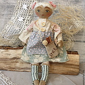 Куклы и игрушки ручной работы. Ярмарка Мастеров - ручная работа Дафна. Авторская чердачная кукла.. Handmade.