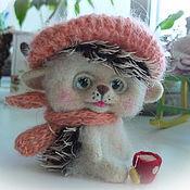 Куклы и игрушки ручной работы. Ярмарка Мастеров - ручная работа Ёжик Ерошка. Handmade.