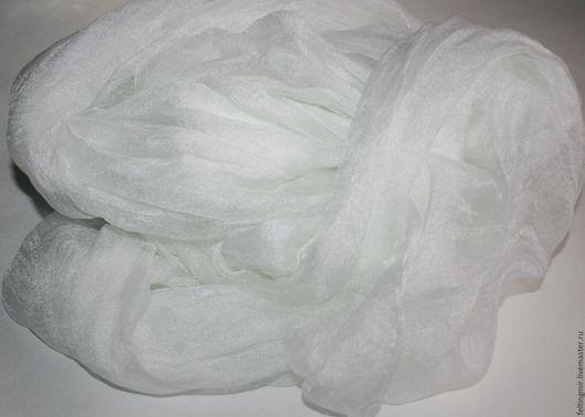 Маргиланский шёлк. Разреженный газ. Ширина 90 см. Шелк для валяния. Шелк для нуновойлока.
